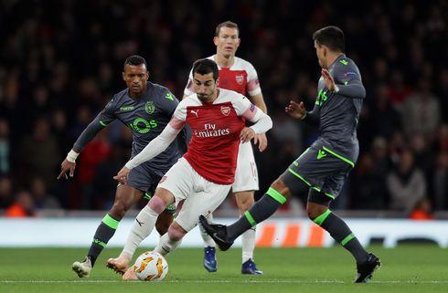 Arsenal spillede sig videre med remis