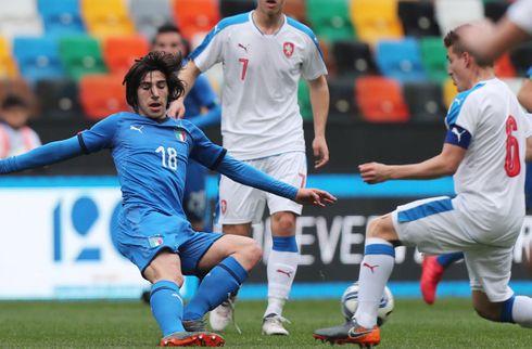 Mancini udtager 18-årig Serie B-spiller