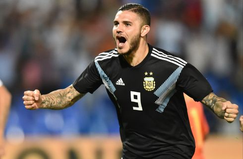 Mauro Icardi igen med i Argentina-trup