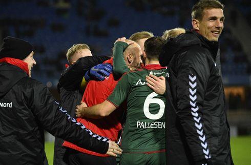 AaB klaskede EfB i Friis' cheftrænerdebut