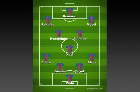Ronaldinho overstråler Messi og alle andre