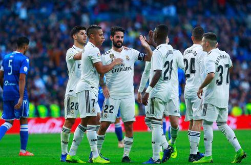 Isco scorede drømmemål i Reals mega-sejr