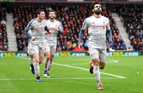 Ustyrlige Salah udbyggede Liverpools stime