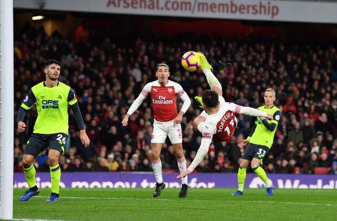 Sent saksesparksmål gav Arsenal fuld gevinst