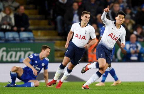 Tottenhams Son blev helten mod Leicester