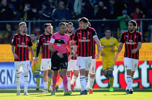Medier: AC Milan kan miste EL-billetten