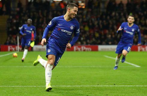 Hazard: Passer bedre til Sarri end Mourinho