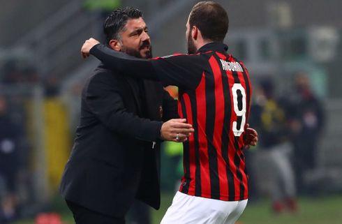 Gattuso bekræfter: Higuain vil væk