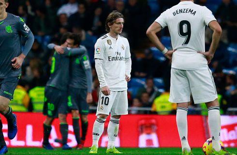 Luka Modric er løbet ind i en skade