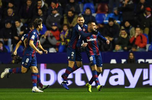 Levante tog fusen på uprøvede Barcelona