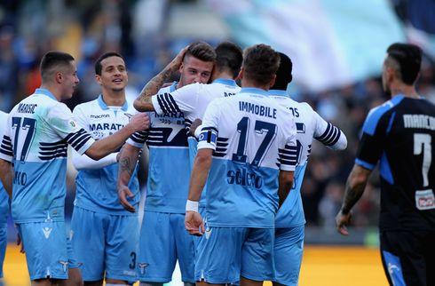 Lazio pløjede Serie C-hold i Durmisi-comeback