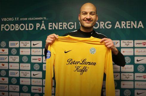 Viborg kaprer keeper i 2. division