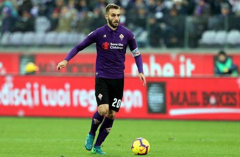 Fiorentina-kaptajn ude med knæskade