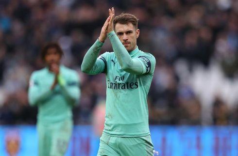 Ramsey: Forlader Arsenal med tungt hjerte