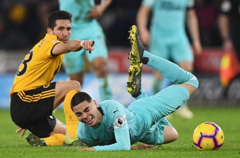 Newcastle smed sejren i 95. minut efter drop