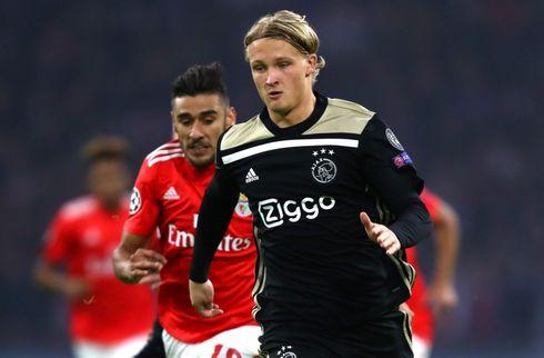 Ajax: Vi får 153 mio. kr. for Kasper Dolberg
