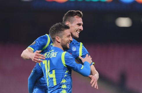 Napoli er videre trods nederlag i Østrig