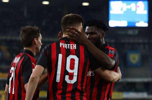 Pligtsejr sender Milan på CL-pladserne