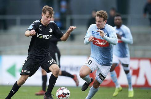 SønderjyskE delte med Liege efter to sene mål