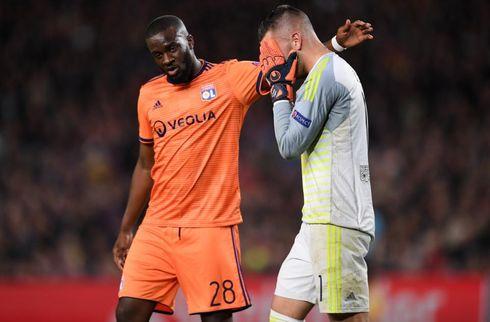 Lyon-keeper i bedring efter Coutinho-duel
