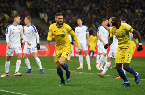 Giroud-hattrick sikrer Chelsea samlet 8-0-sejr