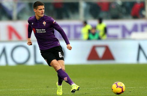 Nørgaard fik spilletid i Fiorentina-nedtur