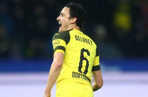 Delaney-assist i stensikker Dortmund-testsejr