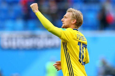 Forsberg reddede Sveriges andenplads