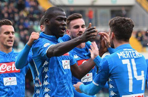 Koulibaly aflyste Juves fest - Chievo rykker ud