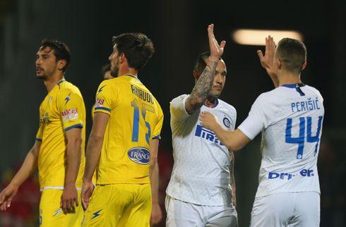 Solide Inter holdt trit med konkurrenterne