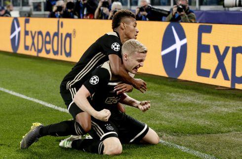 Schöne lagde op: Ajax eliminerede Juventus