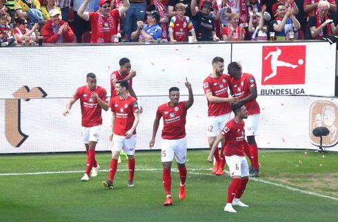 Mainz skruede bissen på i anden halvleg