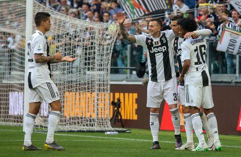 Juventus sikrede sig ottende scudetto i streg