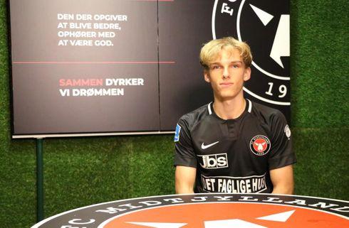 Ung FCM-debutant godkender sin præstation