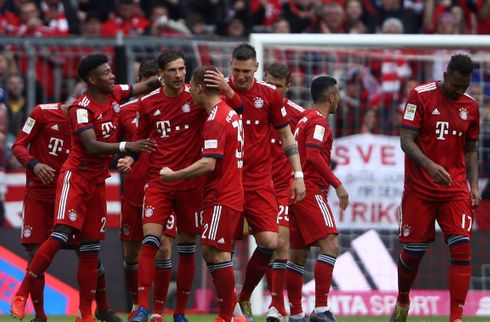Det tyske mesterskab kan blive afgjort