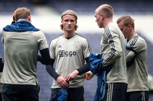 Dolberg nettede i Ajax-test mod tyrkisk tophold