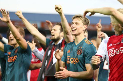Nysgerrige De Jong glæder sig til Messi