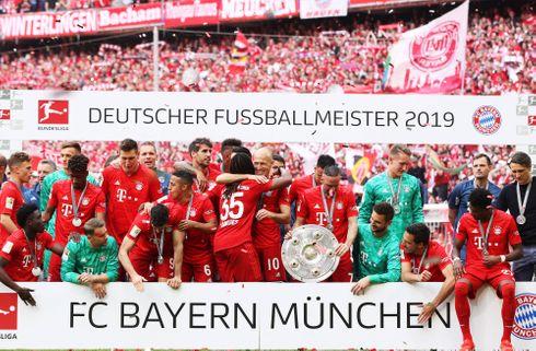 Bayern præsenterer rekordstort overskud