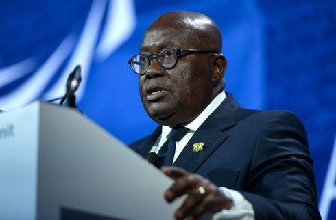 Ghanas præsident taler stjerne ud af pension