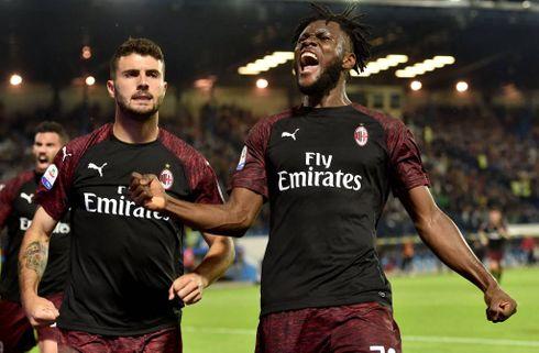 AC Milan sejrede forgæves i CL-slagsmålet