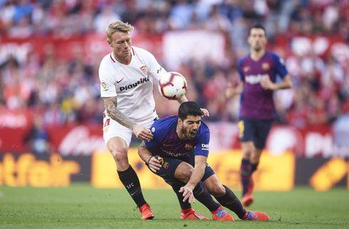 Agent forventer at Simon Kjær bliver i Sevilla