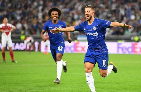 Officielt: Eden Hazard skifter til Real Madrid