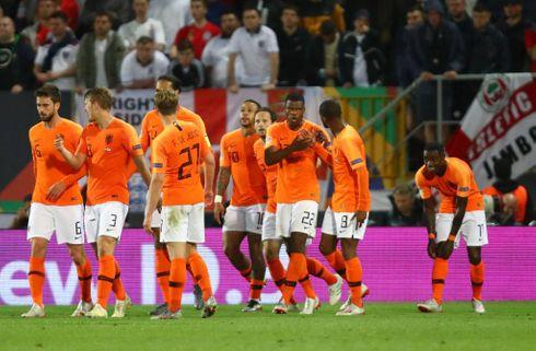 Holland bookede finalebilletten efter forlænget