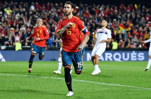 Ramos snuppede markant rekord i spansk sejr