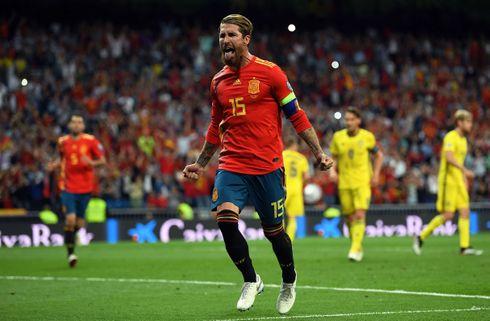 Ramos kronede vild målsæson mod Sverige