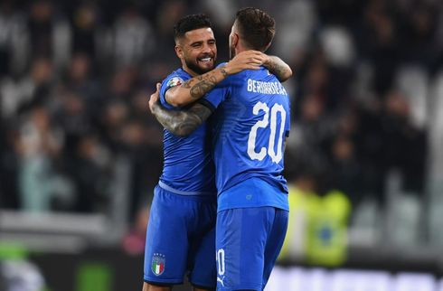 Italien hentede sen sejr over Bosnien