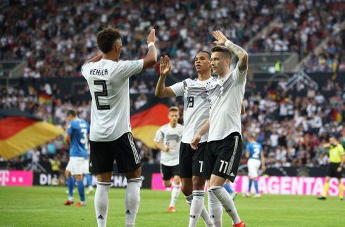 8-0: Tyske stjerner uddelte store tæsk