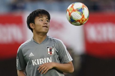 Real Madrid snupper japansk stortalent