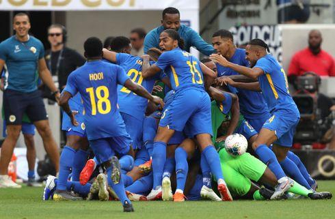 Curacao skrev historie ved Gold Cup