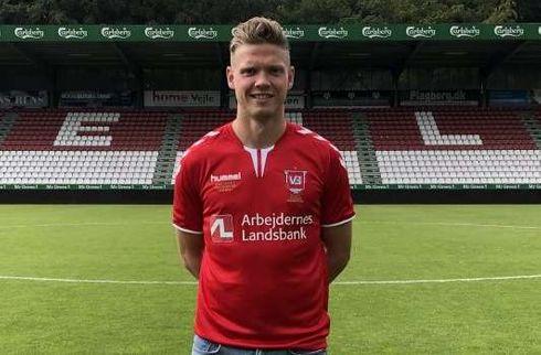 Vejle Boldklub snupper Lucas Jensen